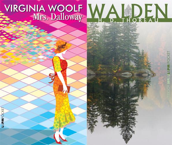 Mrs. Dalloway e Walden, dois títulos da L&PM traduzidos por Denise Bottmann