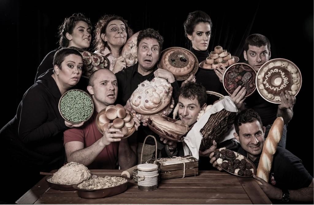 """O elenco de """"Hamlet ao molho picante"""""""