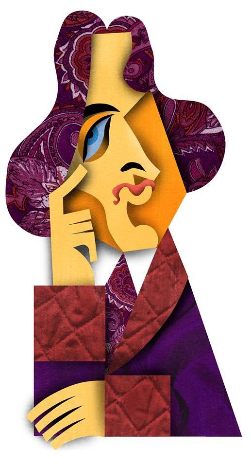 Oscar Wilde por David Cowlens