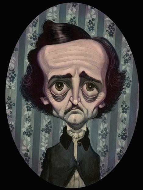 Edgar Allan Poe por Bob Doucette