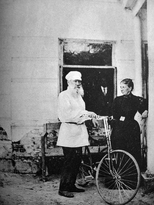 Leon Tolstói em 1895