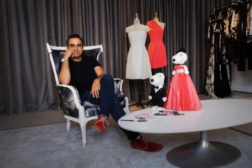 Bibhu Mohapatra, um dos estilistas que participam da exposição