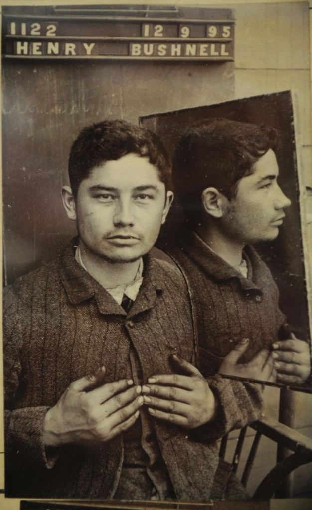 Uma das fotos de Bushnell, datada de 1895.