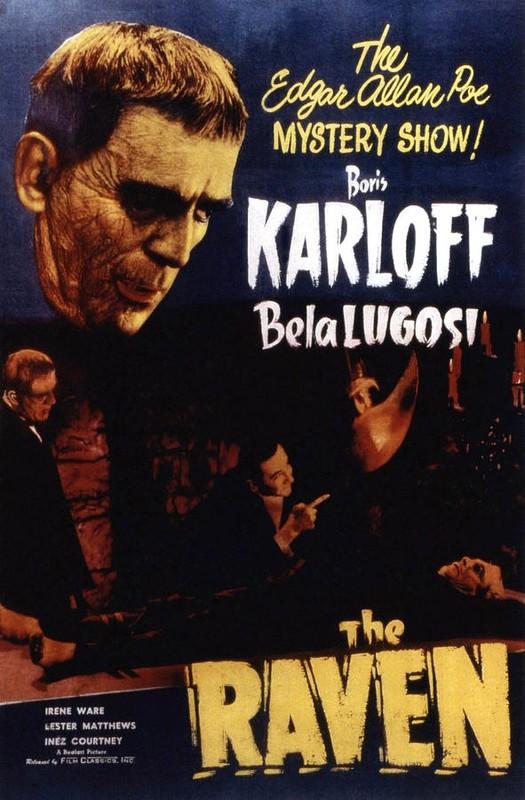 """""""O corvo"""", também com a dupla Karlof e Lugosi"""
