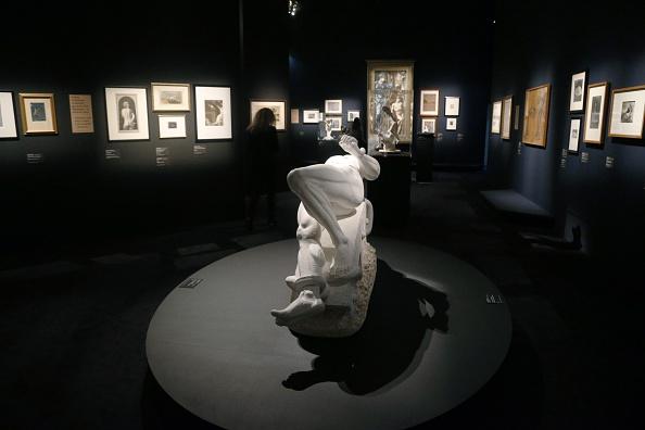 FRANCE-ART-EXHIBITION-SADE