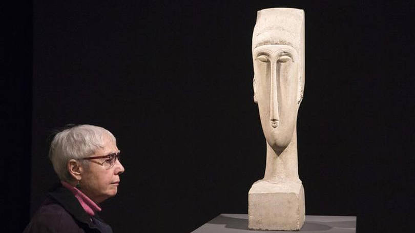 A escultura de Modigliani arrematada por mais de U$ 70 milhões em novembro de 2014