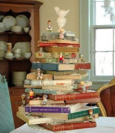 Árvore-livro de mesa