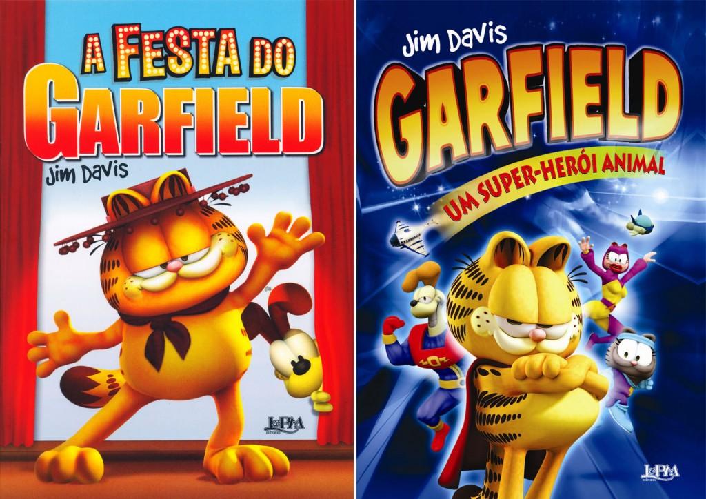 Garfield_dois livros