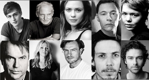 Os dez atores da nova série da BBC, uma adaptação do mais famoso livro de Agatha Christie