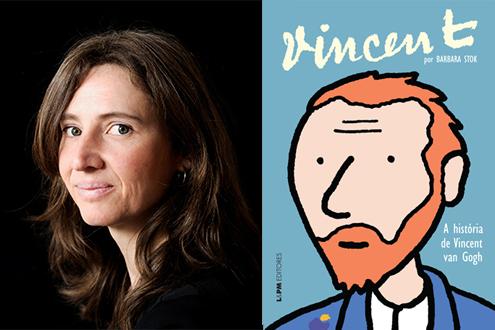 """Barbara Stok, autora de """"Vincent"""", estará no Brasil em agosto e setembro"""