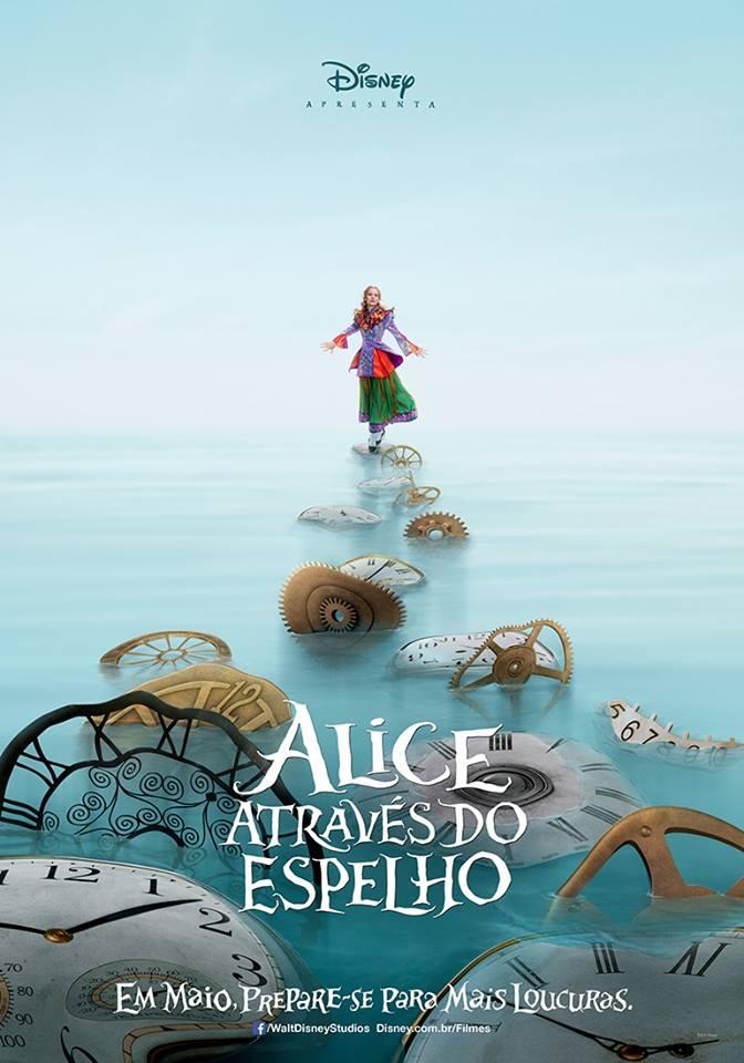Alice atraves di espelho cartaz2