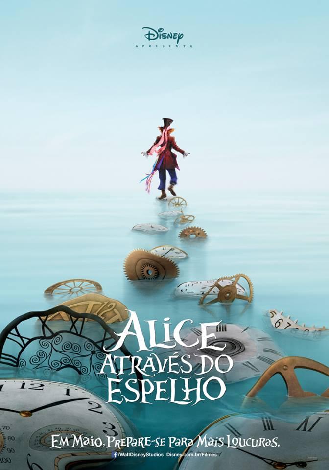 Alice atraves do espelho cartaz1