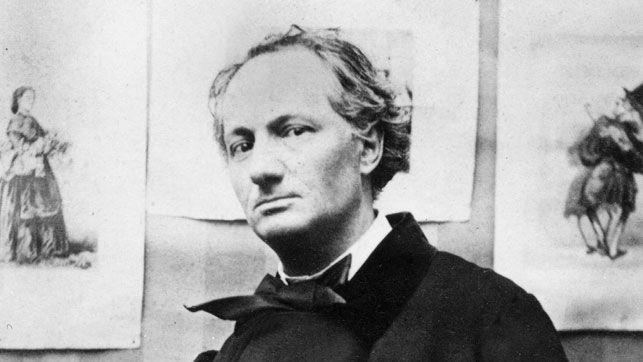 Baudelaire em 1863, quatro anos antes de morrer