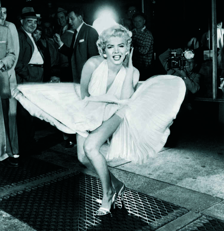 "Marilyn Monroe ""Seven Year Itch"", 1955"