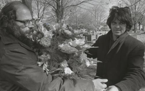 Ginsberg e Corso e as flores