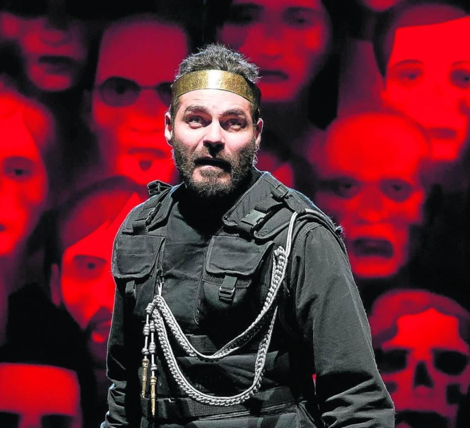 Thiago Lacerda encarna um Macbeth primoroso