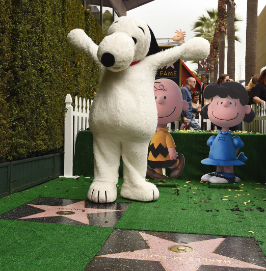 US-ENTERTAINMENT-SNOOPY-PEANUTS-HOLLYWOOD WALK OF FAME