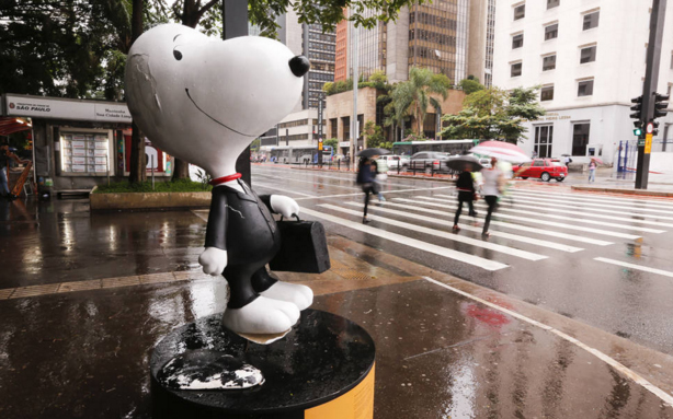 Snoopy avenida Paulista sem orelhas
