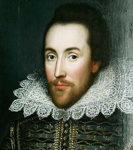 Este seria o único retrato de Shakespeare que foi pintado enquanto o dramaturgo era vivo