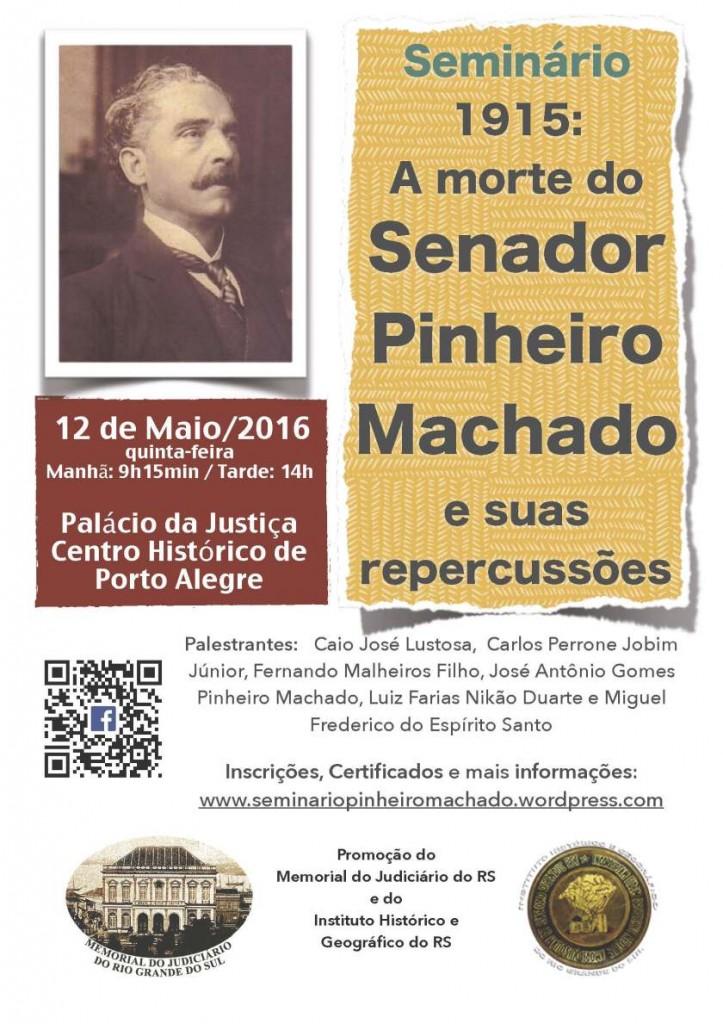 Cartaz do seminário