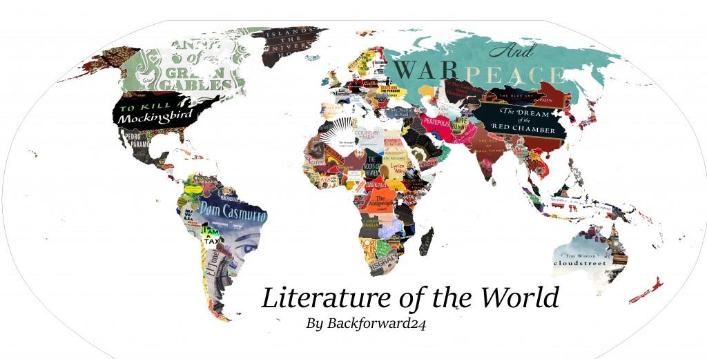 MAPA DA LITERATURA MUNDIAL