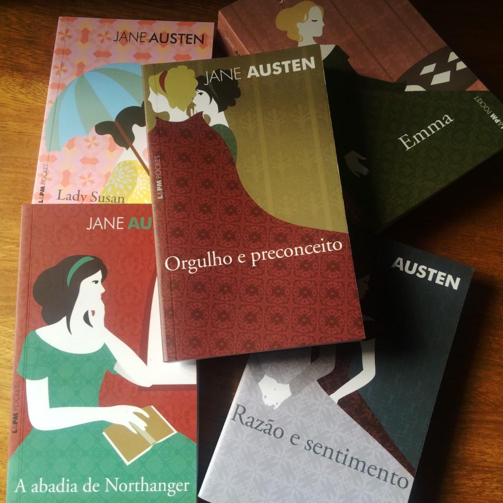 Jane Austen livros da novela