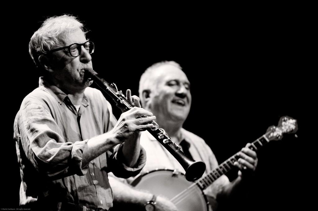 Woody Allen tem uma banda de jazz em Nova York