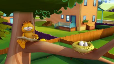 Garfield mamae passarinho